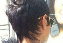 back of short haircut