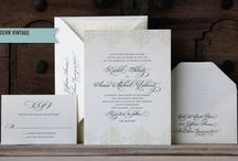 Weddings by Scriptura / Wedding invitations made by Scriptura