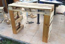 Design for pallet in the garden / Creazioni con i bancali pallet di mobili da giardino