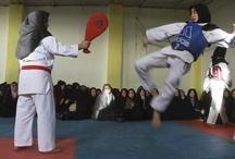 Womens Martial Art Kick assssss :)