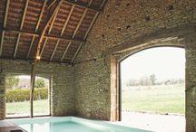 piscine interieure montagne