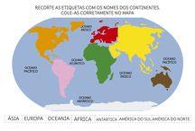 Continentes / by Etienne Nunes