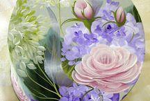 scatola con fiori misti