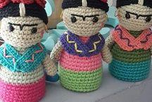 muñecos de croche