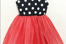 платье мини маус