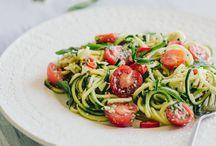recettes spaghettis/ pâtes