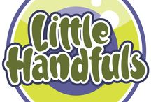 Brand - Little Handfuls / Creation of a new brand for a range of small hand puppets.