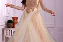 Catalog-1271 Designer Gowns and Sarees