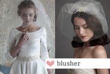 VEILS / Bridal veil options and names