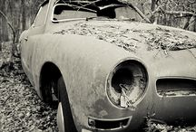 Rust In Peace / Old classic cars never die.  They just rust away / by Mike Blumenfeld