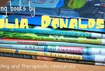 Julia Donaldson / Book-related crafts and activities inspired by books by Julia Donaldson. Moderated by Cerys at Rainy Day Mum.  http://rainydaymum.co.uk