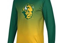 North Dakota State University / North Dakota State Go Bisons!  Show off your school pride in our comfortable sweaters, shirts, shorts, and more for men and women! Got spirit? See more at www.sportswear.com
