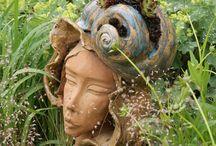 Keramik für Garten