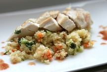 Chicken with Couscous and Olives