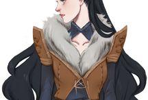 Фан-арт. Dragon Age