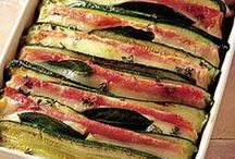 tian courgettes