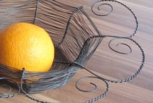 wire art - baskets and similar