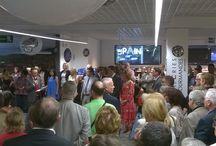 Inauguration des Galeries Gourmandes / Inauguration des Galeries Gourmandes le 9 septembre 2014