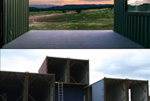 Shipping container architecture / I want one. So this is for inspiration.