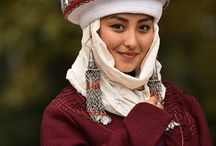 Blending Kazakh - shooting moodboar / a shooting about Kazakhstan. We will combine traditional look with ultramodern Astana. Shooting will be in Astana and in a  stepp arround. 2 female models, 1 male model. Lets go!