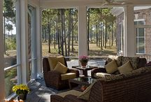 Screened Porch / by Courtney @ The Sweetest Soiree