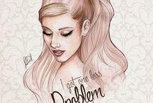 Ariana Grande Drawings