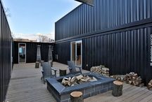 tiny homes / homes made from shipping containers, small homes, portable homes