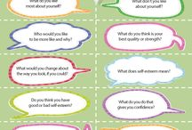 Self esteem talk sheet