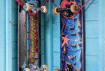 skate rack
