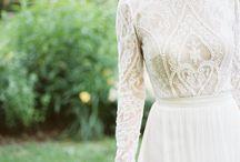 Бохо свадебное платье