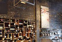 Vintage bar en restaurant
