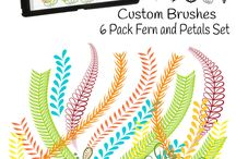 IPad Brushes / Collection of Ipad Brushes for design