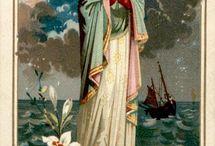 La vierge Marie du monde entier