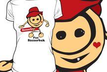 patu koszulki / nietuzinkowe nadruki na koszulki