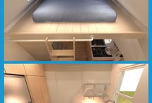 Tiny House Plans / These Tiny House Plans provide the exact blueprints and material lists for building your dream Tiny Home.