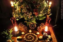 Sacred Space / Altars, sanctuaries and other points of spiritual focus both natural and human-made
