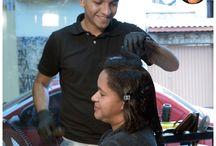 Thiago Santiago Hairdresser / Posts criados para as redes sociais do cliente