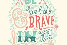 Just be brave