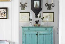 Painted Furniture-old and new / Painted furniture-antique, vintage and restyled furniture updated with cool painted finishes.