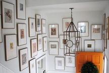 gallery ideas / by Margaret McGraw