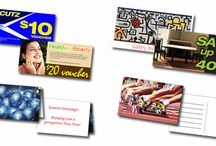 Marketing cards / See our full range of marketing cards