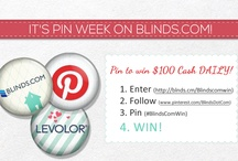 Blinds.com BlindsComWin Pinterest Contest / by Rajee Pandi