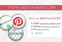 Blinds.com BlindsComWin Pinterest Contest / by Rajee Pandi