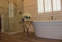 master bath by Erin Galloway Interiors