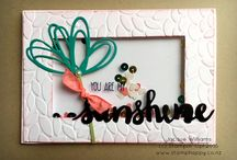 Fun Fold Cards / Fun and Fancy Folded cards for inspiration and templates