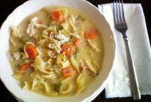 Recipes • Soup & Bread / by Celine M. Suiter