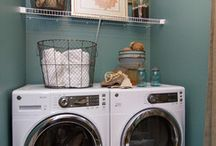 Laundry Rooms / Different layouts and styles for the laundry room