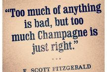 Champagne / Anything bubbly, preferably from Champagne, France...