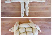 Flettet brød