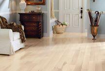 Maple/ esdoorn houten vloer